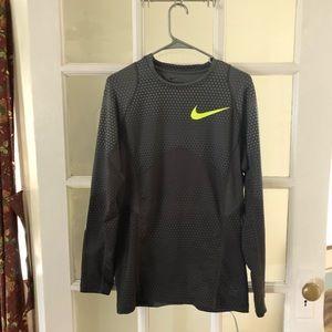 Nike PRO Hyperwarm Fitted performance shirt.